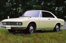 Concept car by Mazda RX-87 Bertone in 1967