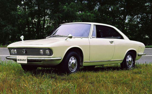 Concept car by Mazda RX-87 Bertone in 1967