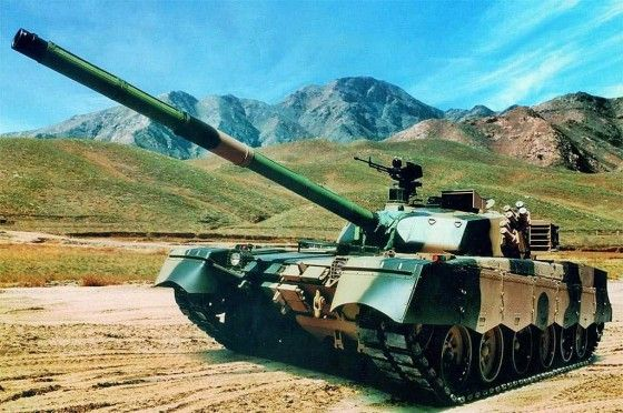 MBT-2000 Al-Khalid Al-Zarrar main battle tank