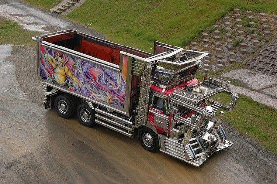 Gundam Transport Truck