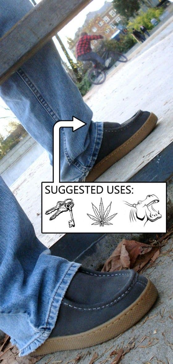 Suggested used for the Ipath Cats being worn in a skate park