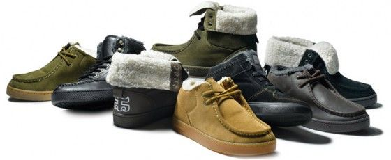 The Ipath Shearling Winter Line Of Shoes
