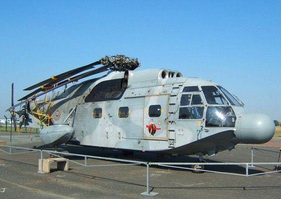 SA 321 with rotors folded