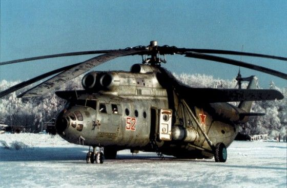 Russian Mil M-6 biggest helicopter