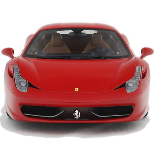1-8-Scale-Ferrari-458-Italia-Model-Red-Front