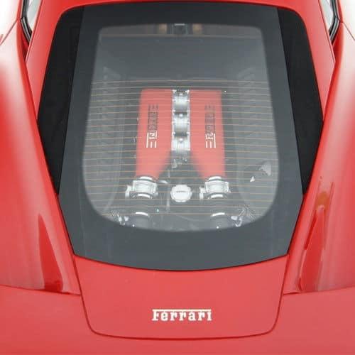 1-8-Scale-Ferrari-458-Italia-Model-Red-Engine