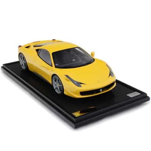 1-8-Scale-Ferrari-458-Italia-Model-Yellow