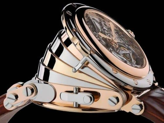 $1.2 Million Accordion Style Watch