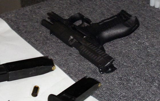 A Walther P99 Handgun On A Table