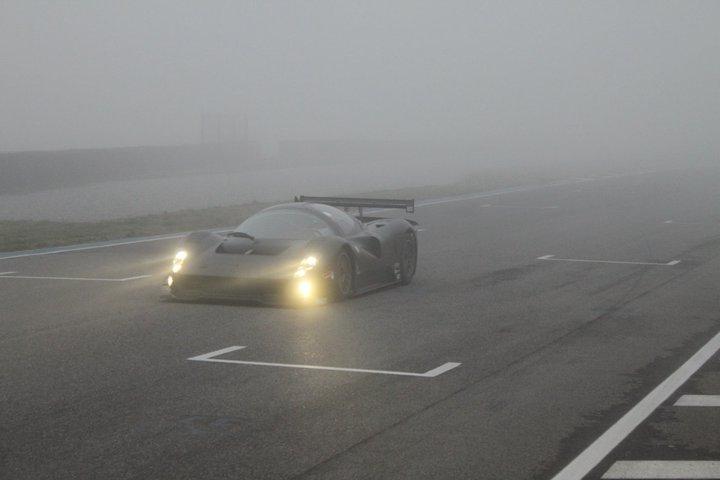 Ferrari-P4-5-Competizione-Driving