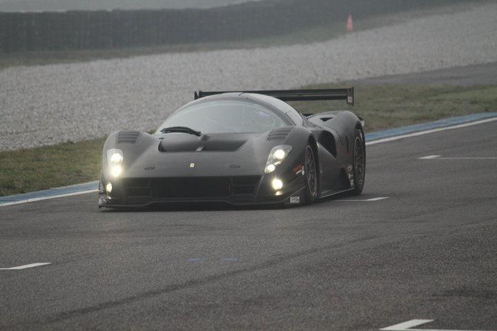 Ferrari-P4-5-Competizione-At-Track
