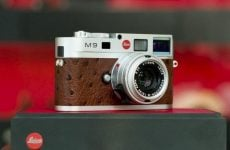 Expensive Leica M9 limited edition camera