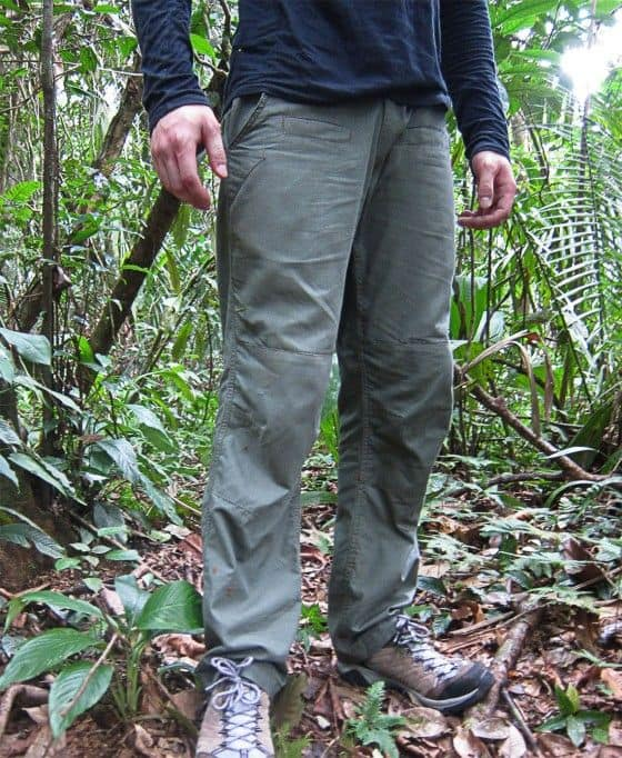 Chad Wearing The TAD Spartan Pant In The Belize Jungle