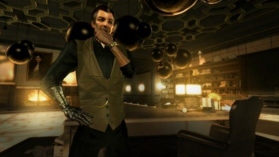 Deus Ex: Human Revolution - David Serif Is Pondering