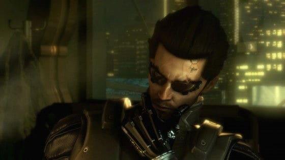 Deus Ex: Human Revolution - Adam Jensen Is Pondering