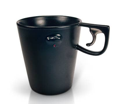 Ceramic Mug with Safety Switch and Trigger Handle