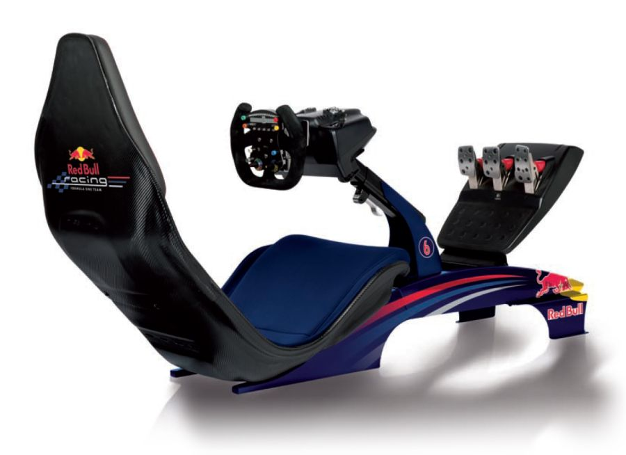 Playseat Red Bull Racing Video Game Simulator Unfinished Man