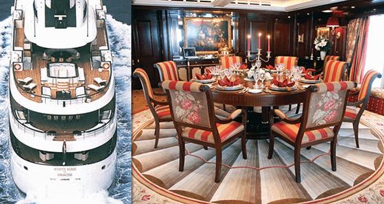 DB Fletcher Capstan Table On A Boat
