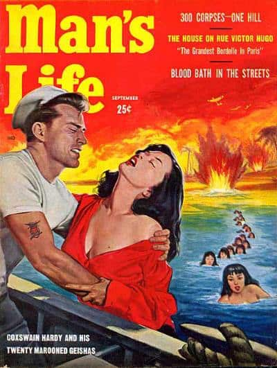 man's life sailor rescues women