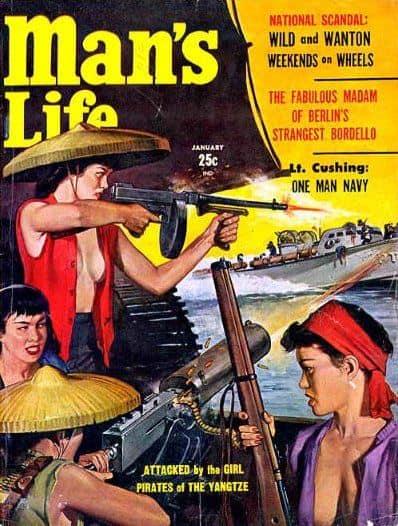 man's life women viet cong
