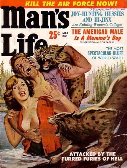 man's life woman attacked by bobcats