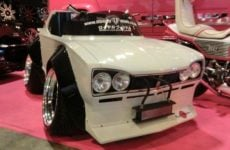 replica Nissan Skyline GT-R microcar Japan