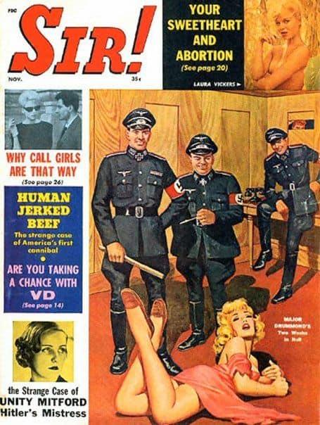 sir! nazis watch pin up girl