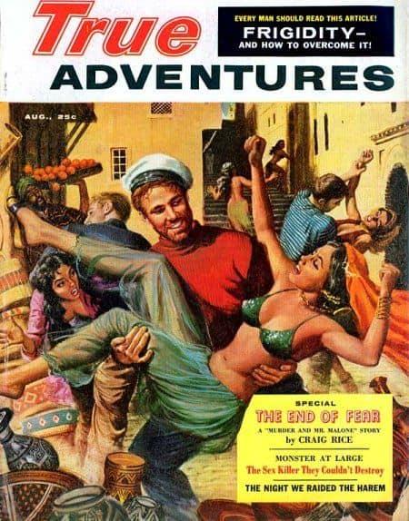 true adventures man with harem girl
