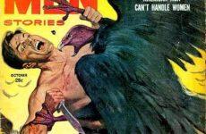 true men vulture attacks man