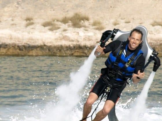 Water powered jetpack by Jetlev Technologies R200