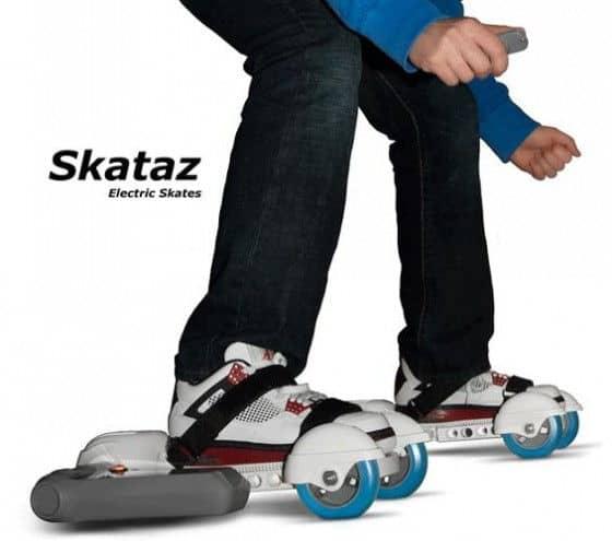 Cool electric powered skates by Skataz