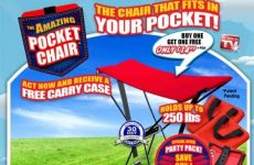 Pocket chair that fits in your pocket
