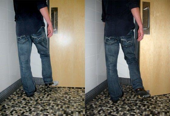 Forge LLC Toepeer Public Bathroom Door Opener