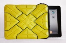 iPad sleeve withstand hit from 12-pound bowling ball