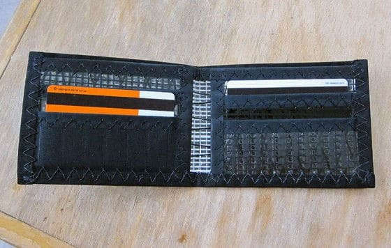 Inside Photo Of The Ragged Edge Carbon Fiber Wallet