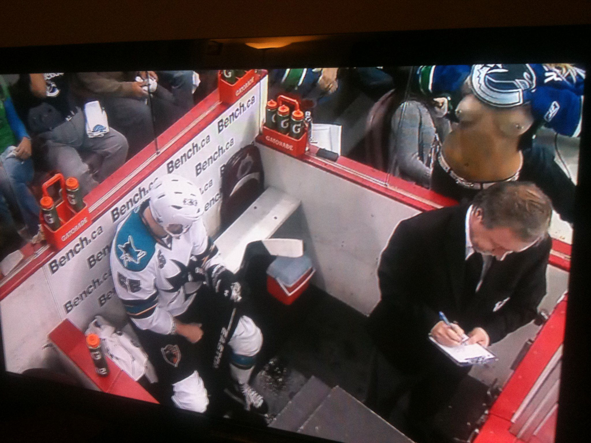 2011 NHL Playoffs Entertainment: Boobs and Green Men