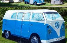 Hippie VW Camping Van Tent
