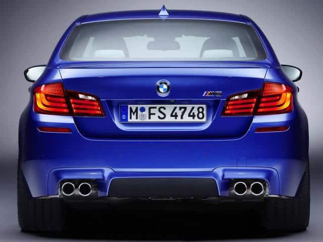 2012-BMW-M5-F10-Back-Rear