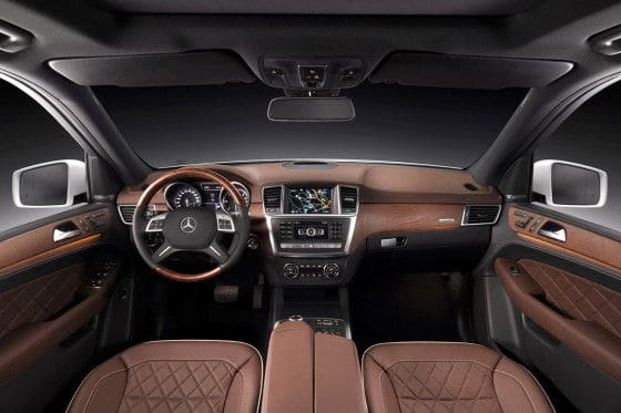 2012-Mercedes-Benz-M-Class-Brown-Interior