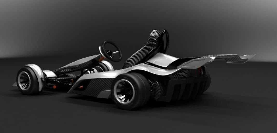 Silver-GK2G-Electric-Go-Kart
