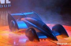 New Batmobile forumula one McLaren car