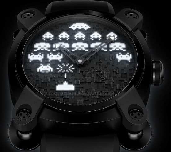 Romain-Jerome-Space-Invaders-Watch-Black-and-White