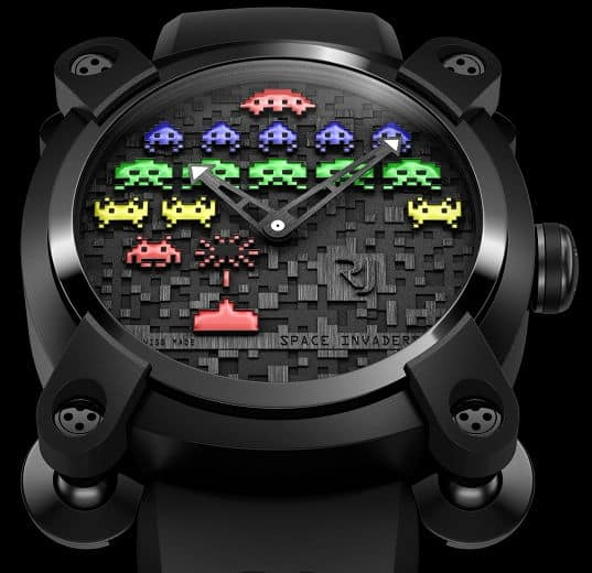 Romain-Jerome-Space-Invaders-Watch-Colorful