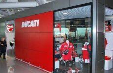 New Ducati store opens at Italian Rome Fiumicino Airport