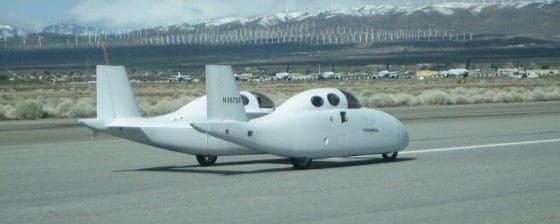 Hybrid BiPod Roadable Aircraft Flying Car
