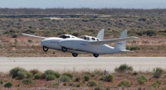 Hybrid 367 BiPod Roadable Plane