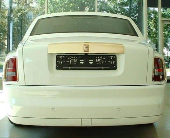 $8 Million Rolls Royce Phantom Solid Gold
