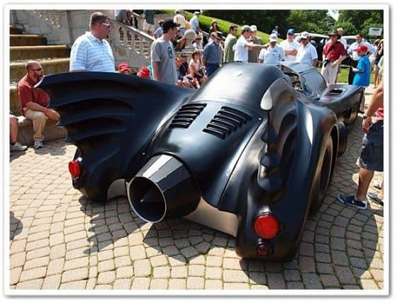 Back of Putsch Racing Batmobile