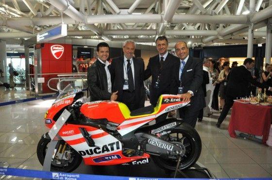 Ducati store opens at Italian Airport