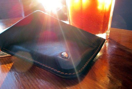 the hide & seek wallet with owl emblem